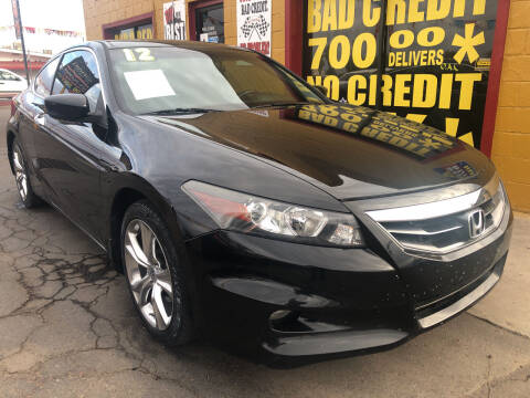 2012 Honda Accord for sale at Sunday Car Company LLC in Phoenix AZ