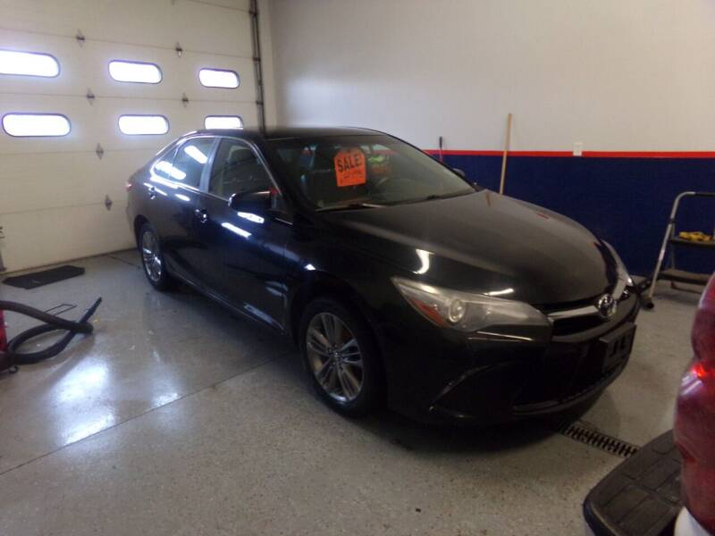 2015 Toyota Camry for sale at Pool Auto Sales Inc in Spencerport NY