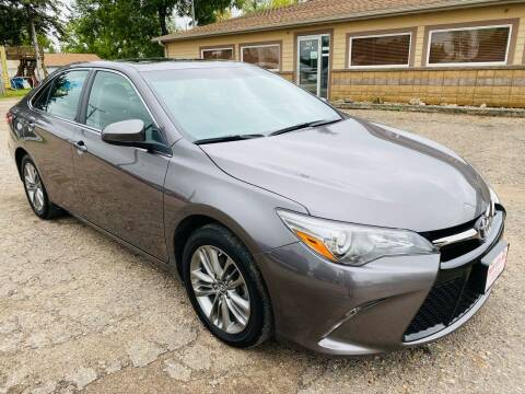 2017 Toyota Camry for sale at Truck City Inc in Des Moines IA