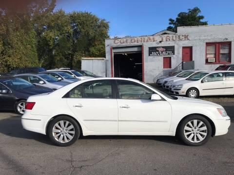 2009 Hyundai Sonata for sale at Dan's Auto Sales and Repair LLC in East Hartford CT