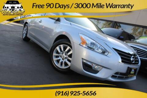 2013 Nissan Altima for sale at West Coast Auto Sales Center in Sacramento CA
