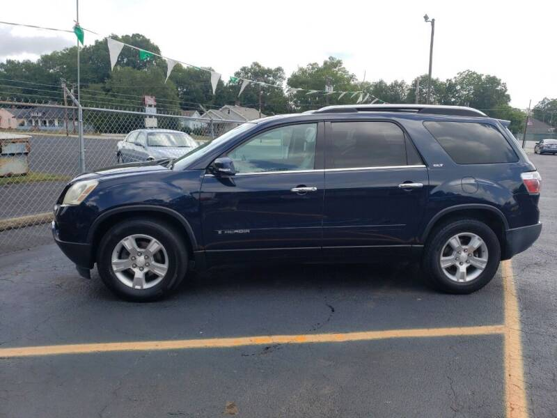 2007 GMC Acadia for sale at A-1 Auto Sales in Anderson SC