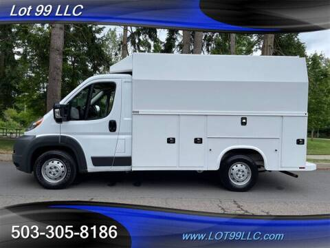 2016 RAM ProMaster Cutaway Chassis for sale at LOT 99 LLC in Milwaukie OR