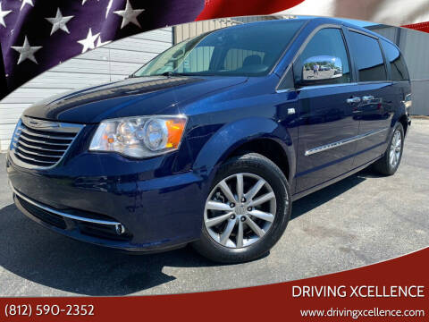 2014 Chrysler Town and Country for sale at Driving Xcellence in Jeffersonville IN