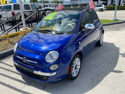 2012 FIAT 500c for sale at Navarro Auto Motors in Hialeah FL