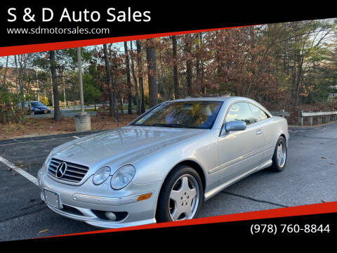 2002 Mercedes-Benz CL-Class for sale at S & D Auto Sales in Maynard MA