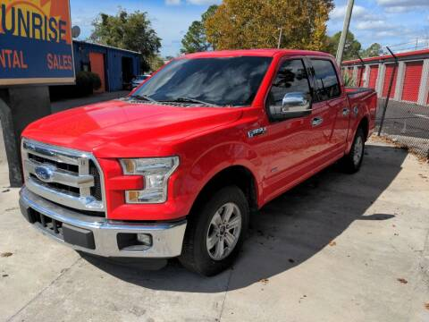 2015 Ford F-150 for sale at SUNRISE AUTO SALES in Gainesville FL