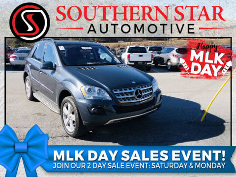 2011 Mercedes-Benz M-Class for sale at Southern Star Automotive, Inc. in Duluth GA