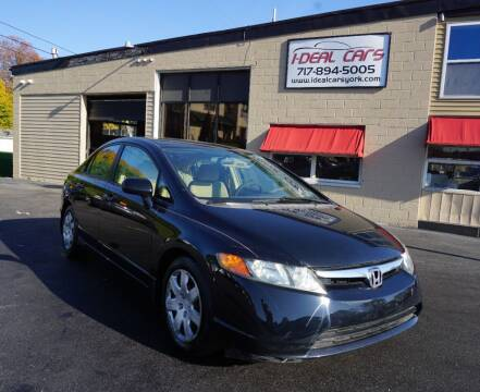 2006 Honda Civic for sale at I-Deal Cars LLC in York PA