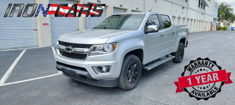 2016 Chevrolet Colorado for sale at IRON CARS in Hollywood FL