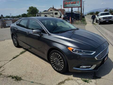 2018 Ford Fusion for sale at Sunset Auto Body in Sunset UT