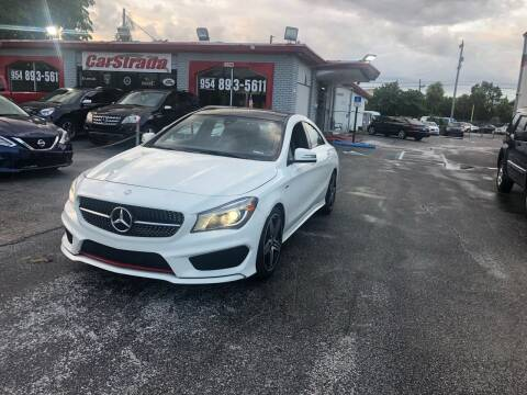2015 Mercedes-Benz CLA for sale at CARSTRADA in Hollywood FL