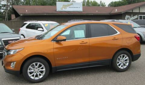 2018 Chevrolet Equinox for sale at AUTOHAUS in Tomahawk WI