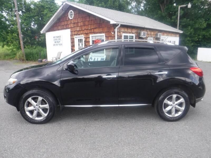 2009 Nissan Murano for sale at Trade Zone Auto Sales in Hampton NJ