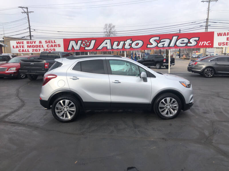 2018 Buick Encore for sale at N & J Auto Sales in Warsaw IN