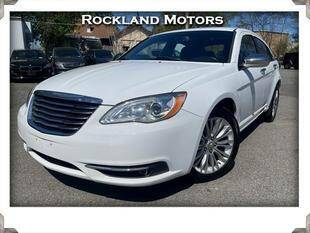 2012 Chrysler 200 for sale at Rockland Automall - Rockland Motors in West Nyack NY