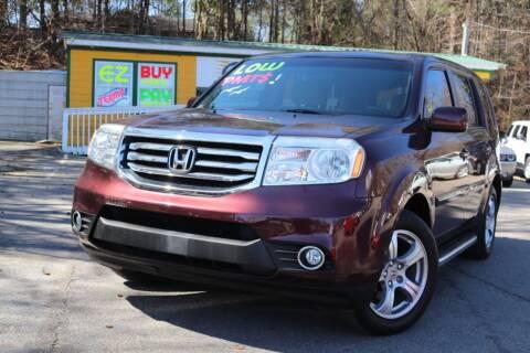 2012 Honda Pilot for sale at Go Auto Sales in Gainesville GA