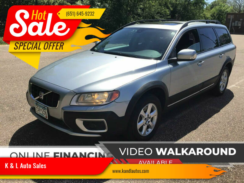 2008 Volvo XC70 for sale at K & L Auto Sales in Saint Paul MN
