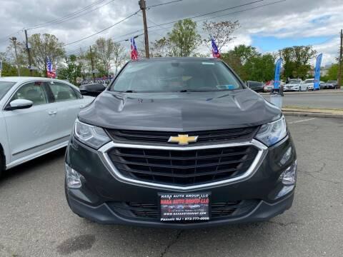 2018 Chevrolet Equinox for sale at Nasa Auto Group LLC in Passaic NJ