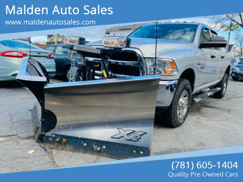 2017 RAM Ram Pickup 2500 for sale at Malden Auto Sales in Malden MA