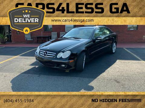 2008 Mercedes-Benz CLK for sale at Cars4Less GA in Alpharetta GA