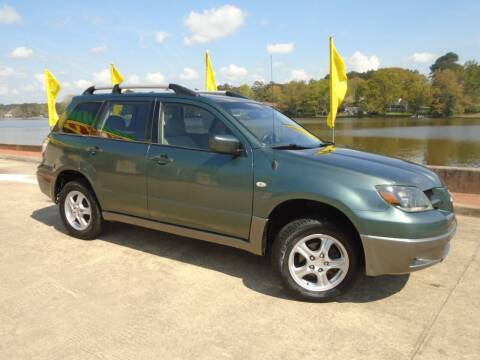 2004 Mitsubishi Outlander for sale at Lake Carroll Auto Sales in Carrollton GA