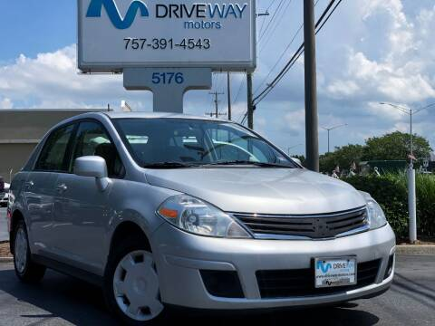 2010 Nissan Versa for sale at Driveway Motors in Virginia Beach VA