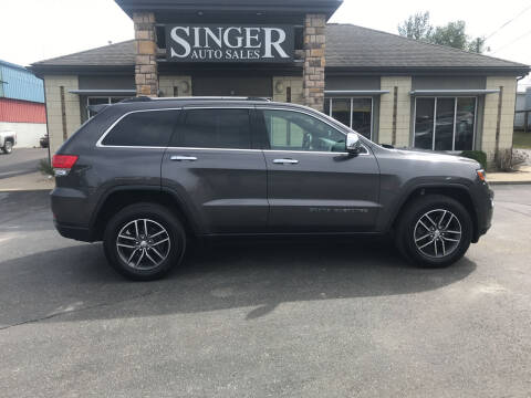 2018 Jeep Grand Cherokee for sale at Singer Auto Sales in Caldwell OH
