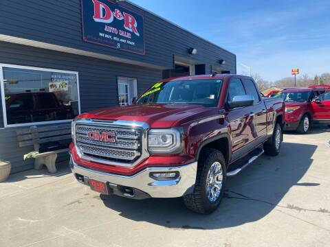 2016 GMC Sierra 1500 for sale at D & R Auto Sales in South Sioux City NE