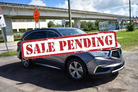 2019 Acura MDX for sale at STS Automotive - Miami, FL in Miami FL