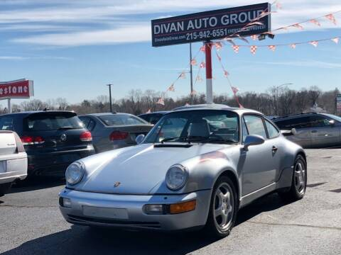 1992 Porsche 911 for sale at Divan Auto Group in Feasterville PA