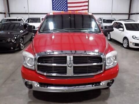 2007 Dodge Ram Pickup 3500 for sale at Texas Motor Sport in Houston TX