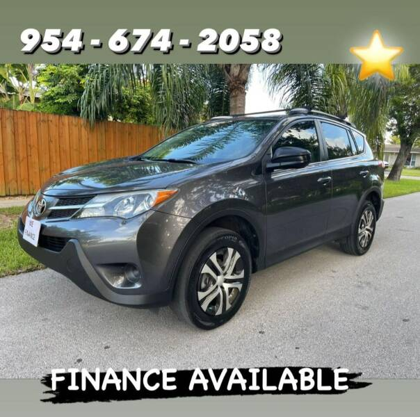 2015 Toyota RAV4 for sale at Venmotors Hollywood in Hollywood FL