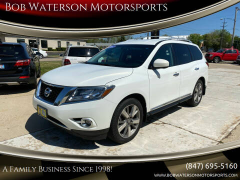 2014 Nissan Pathfinder for sale at Bob Waterson Motorsports in South Elgin IL