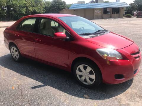2007 Toyota Yaris for sale at Cherry Motors in Greenville SC