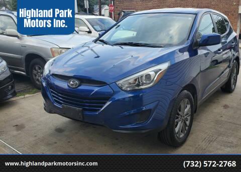 2014 Hyundai Tucson for sale at Highland Park Motors Inc. in Highland Park NJ