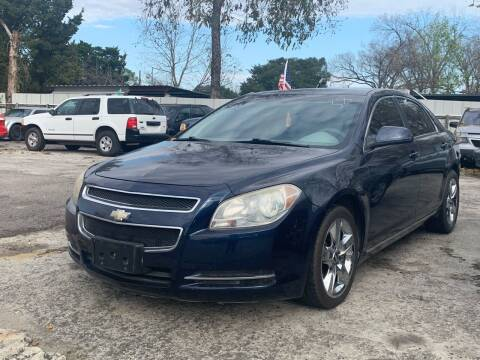 2010 Chevrolet Malibu for sale at FREDY CARS FOR LESS in Houston TX