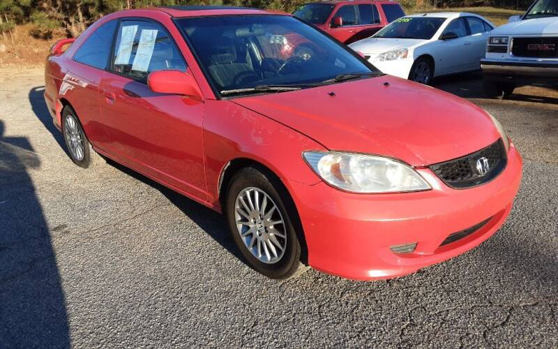 2005 Honda Civic for sale at Mathews Used Cars, Inc. in Crawford GA