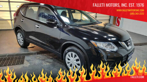 2015 Nissan Rogue for sale at Falleti Motors, Inc.  est. 1976 in Batavia NY