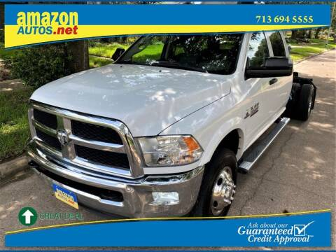 2017 RAM Ram Chassis 3500 for sale at Amazon Autos in Houston TX