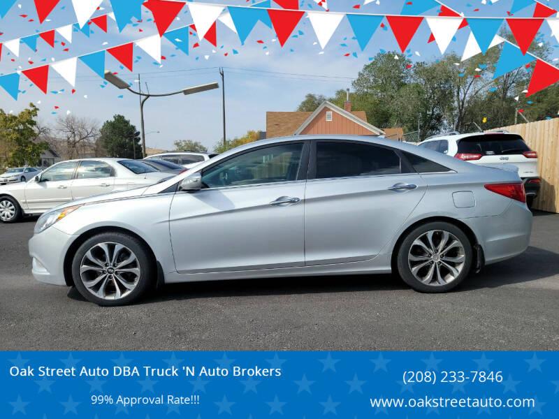 2013 Hyundai Sonata for sale at Oak Street Auto DBA Truck 'N Auto Brokers in Pocatello ID