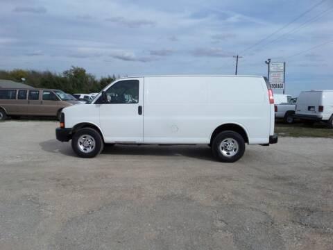 2010 Chevrolet Express Cargo for sale at AUTO FLEET REMARKETING, INC. in Van Alstyne TX