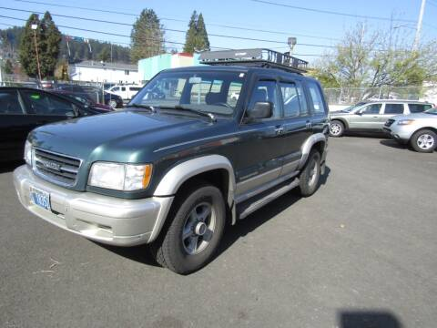 1999 Isuzu Trooper for sale at ARISTA CAR COMPANY LLC in Portland OR