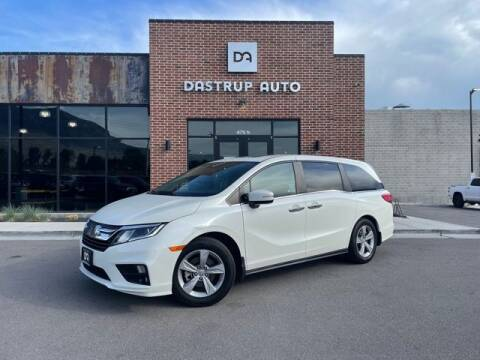 2018 Honda Odyssey for sale at Dastrup Auto in Lindon UT
