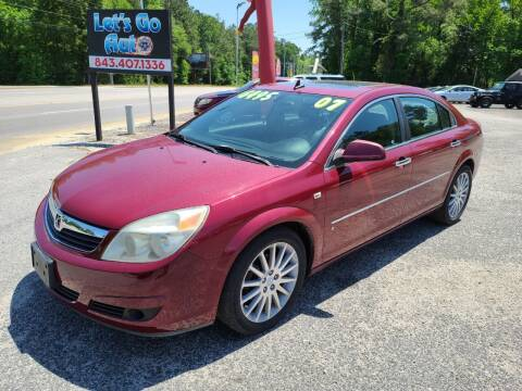2007 Saturn Aura for sale at Let's Go Auto in Florence SC