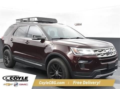 2018 Ford Explorer for sale at COYLE GM - COYLE NISSAN - New Inventory in Clarksville IN