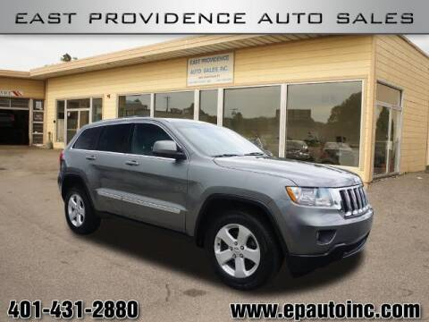 2012 Jeep Grand Cherokee for sale at East Providence Auto Sales in East Providence RI