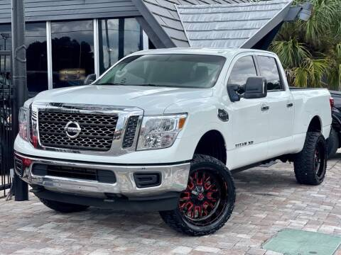 2018 Nissan Titan XD for sale at Unique Motors of Tampa in Tampa FL