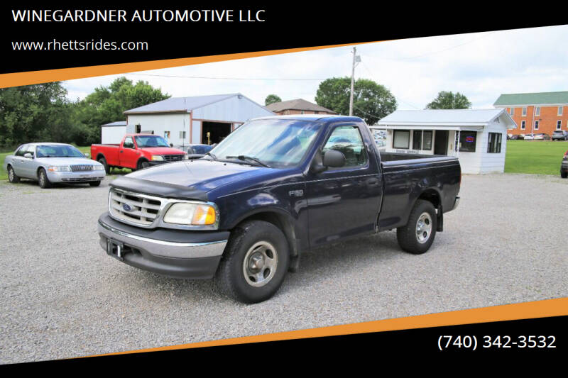 2003 Ford F-150 for sale at WINEGARDNER AUTOMOTIVE LLC in New Lexington OH