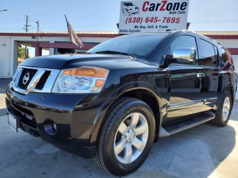 2012 Nissan Armada for sale at CarZone in Marysville CA